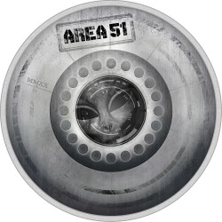 AREA 51 UFO ALIEN GREAT CONSPIRACIES PALAU 2020 2 Oz SILVER COIN