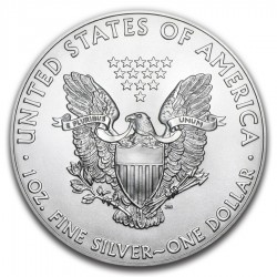 BURNING SKULL AND SNAKE AMERICAN SILVER EAGLE 1 Oz 2020 1 DOLLAR