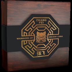 ZHANG FEI WARRIORS OF ANCIENT CHINA 5 DOLLARS 3 OZ NIUE 2020