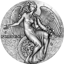 CELESTIAL BEAUTY FORTUNA 2 OZ CAMEROON 2021 SILVER COIN 2000 FRANCS