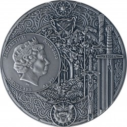 WITCHER II SWORD OF DESTINY 2 OZ NIUE 2020 SILVER COIN