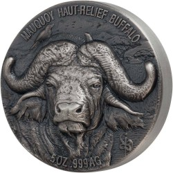 WATER BUFFALO 5 OZ 2020 REPUBLIQUE DE COTE D'IVOIRE 5000 FRANCS