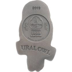 URAL OWL MONGOLIA WILDLIFE 3D 3 Oz 1000 TOGROG MONGOLIA 2019