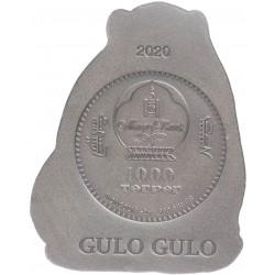 GULO GULO MONGOLIA WILDLIFE 3D 3 Oz 1000 TOGROG MONGOLIA 2020
