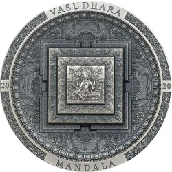 VASUDHARA ARCHEOLOGY AND SYMBOLISM SERIES ANTIQUE 2000 TOGROG 3 OZ MONGOLIA 2020