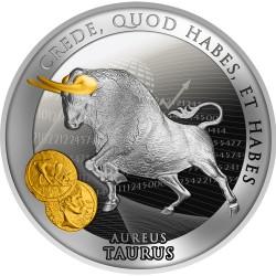 AUREUS TAURUS 17,5 G 1 DOLLAR NIUE 2021