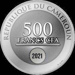 FAITH HOPE LOVE 17,5 G 500 CFA FRANCS CAMEROON 2021
