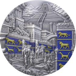 BABYLONIA LOST CIVILIZATION 2 OZ 10 DOLLARS PALAU 2021