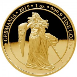 Germania 2019 Gold Proof 100 Mark 1 Oz