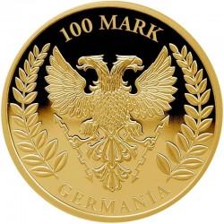 Germania 2019 Gold Proof 100 Mark 1 Oz