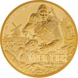 THE LAST WISH WITCHER 1/10 OZ GOLD AU 15 $ DOLLARS NIUE 2021