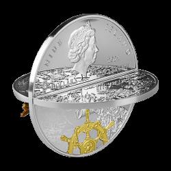 FERDINAND MAGELLAN 2 OZ 5 DOLLARS NIUE 2021