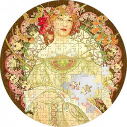 REVERIE BY ALFONS MUCHA MICROPUZZLE TREASURES 3 OZ 20 DOLLARS PALAU 2021