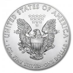 NEWBORN BABY AMERICAN EAGLE SILVER COIN 1 DOLLAR 1 OZ 2019