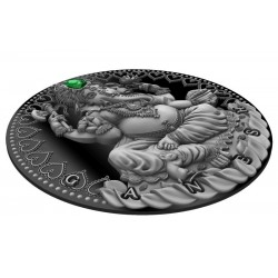 GANESHA WORLD CULTURES 2 OZ CAMEROON 2019 2000 FRANCS