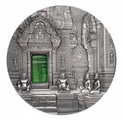 Khmer Tiffany Art 10 Dolarów 2 Oz Palau 2019