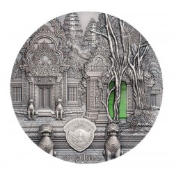 Khmer Tiffany Art 10 Dollars 2 Oz Palau 2019