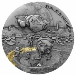 KOSMICZNE KOPALNIE II SPACE MINING 1$ NIUE 2019 1 OZ