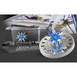 MORAVIAN STAR ST PETER'S BASILICIA CRYSTAL GIANT 100$ 1KG 2017