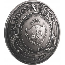 Pandora S Box Palau 2019 20 Dollars 3 Oz Silver Coin