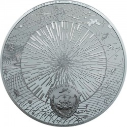THE UNIVERSE SPACE 20 DOLLARS 3 OZ PALAU 2019