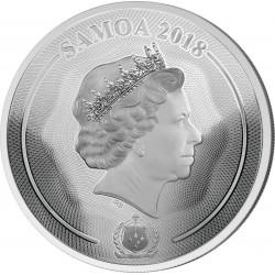 Mastersize Pada 2018 Samoa 25$ 1 Kg Yin Yang