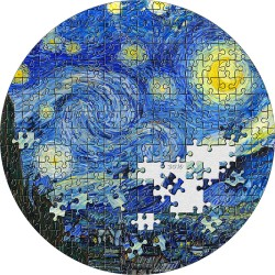 Micropuzzle Treasures Starry Night Van Gogh Palau 2019 3 Oz 20$