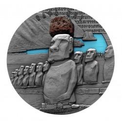Rapa Nui 2 Oz Cameron 2020 Lava Resin 2000 Francs CFA