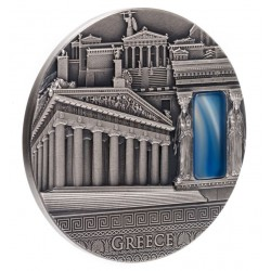 IMPERIAL ART GREECE NIUE 2019 2 OZ 2 DOLLARS