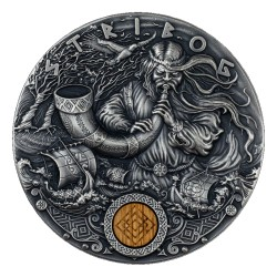 STRIBOG SLAVIC GODS 2 DOLLARS 2 OZ NIUE 2020