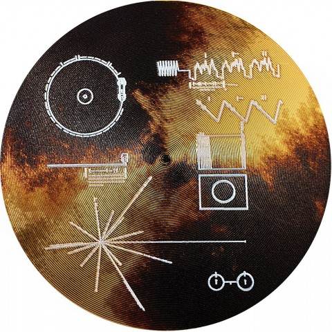 VOYAGER GOLDEN RECORD The Sounds of Earth Cook Islands 2020