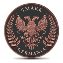 GERMANIA 2019 5 MARK ATLAS OF METEORITES - MOLDAVITE