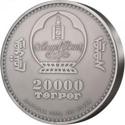 GULO GULO WOLVERINE WILDLIFE PROTECTION 20 000 TOROG 1 KG MONGOLIA 2020