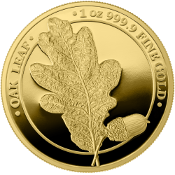 Germania OAK 2020 Gold Proof 100 Mark 1 Oz