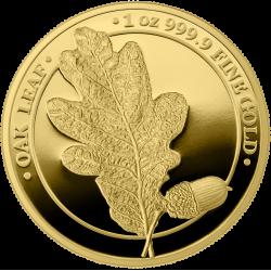 OAK PROOF Germania 2020 Gold Proof 100 Mark 1 Oz
