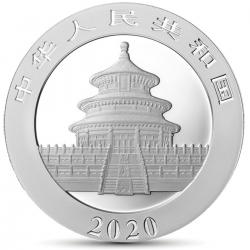 CORONAVIRUS CHINA PANDA 2020 1 OZ GLOW IN THE DARK MINTAGE 100 PCS