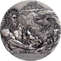 PROMETHEUS TITANS SERIES 20 DOLLARS 3 OZ COOK ISLANDS 2020