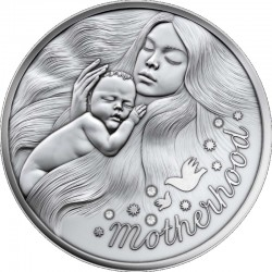 MOTHERHOOD 0.5 OZ SILVER COIN 1 DOLLAR NIUE 2021