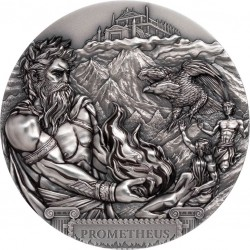 PROMETHEUS COOK ISLANDS 2020 20$ TITANS 3 OZ SILVER COIN